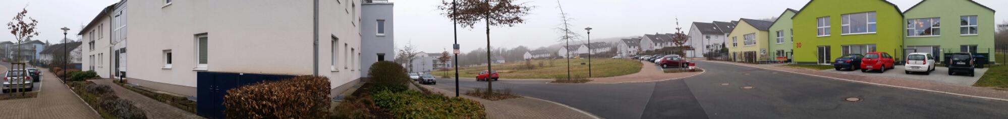 Panoramaaufnahme Kindergarten Schwelm (Neubau der evangelischen Gemeinde)