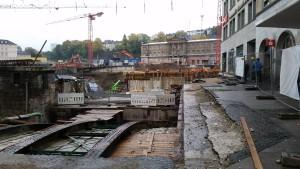 Baustelle Bahnhof Wuppertal