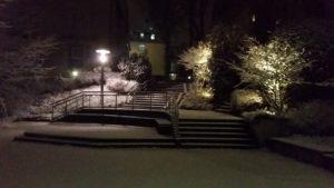 Campus im Schnee III
