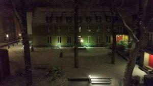 Campus im Schnee