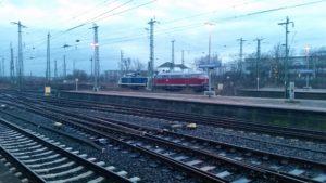 Zwei Lokomotiven in Hamm