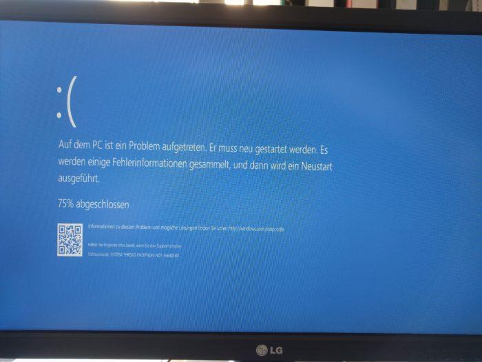 und ein Beitrag von Windows 10
