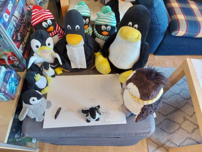 Bild Planungsausschuss neue Netzwerkstruktur Pinguin-WG